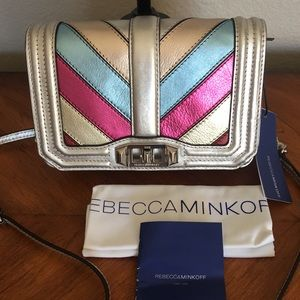 REBECCA MINKOFF. Stunning purse with tags!